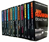 Ian Rankin Collection 12 Books Set RRP £83.88 Rebus Blood Hunt (Blood Hunt, Watchman, Bleeding Hearts, A Good Hanging, A Question Of Blood, Tooth & Nail, Resurrection Men, Hide & Seek, Fleshmarket Close, The Flood, Witch Hunt, The Falls)