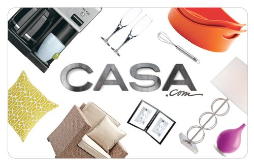 Casa.Com Gift Card - $25 front-1051455