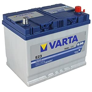 varta e23 blue dynamic autobatterie batterie 70ah. Black Bedroom Furniture Sets. Home Design Ideas