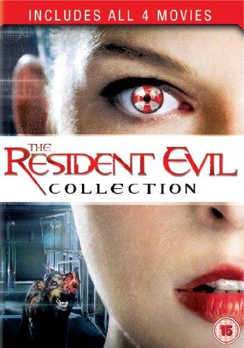 Resident Evil 1-4 [DVD] [2011]