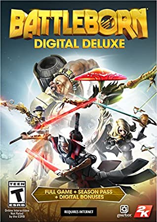 Battleborn Digital Deluxe - PS4 [Digital Code]