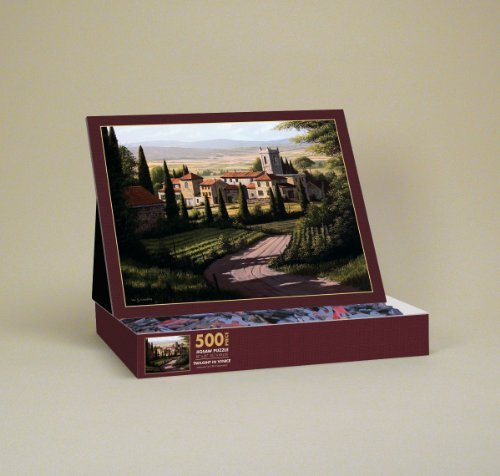 Lang Vineyards of Tuscany by Bill Saunders Jigsaw Puzzle (500-Piece) - 1