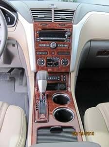 Chevrolet Chevy Traverse Interior Burl Wood Dash Trim Kit Set 2009 2010 2011 2012
