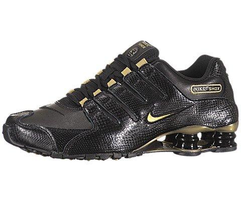 Nike Shox NZ Sneaker Schwarz-Goldfarben Gr.36