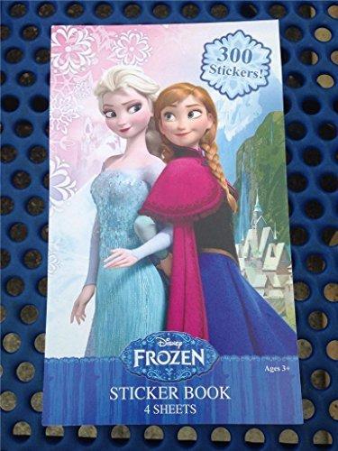 Disney Frozen Sticker Book with 300 Glittery Stickers