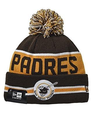 New Era San Diego Padres MLB Coach Pom Pom Knit Cap