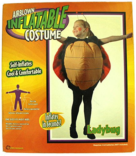 Gemmy Airblown Inflatable Costume - Child Girls Ladybug