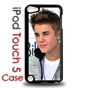 Amazon.com : IPod 5 Touch Black Plastic Case - Justin Bieber Face Cute