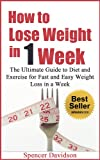 HOW TO LOSE WEIGHT: How to Lose Weight in One Week (how to lose weight, how to lose 10 pounds in a week, how to lose 10 pounds, how to lose weight fast, diets, weight loss, weight)