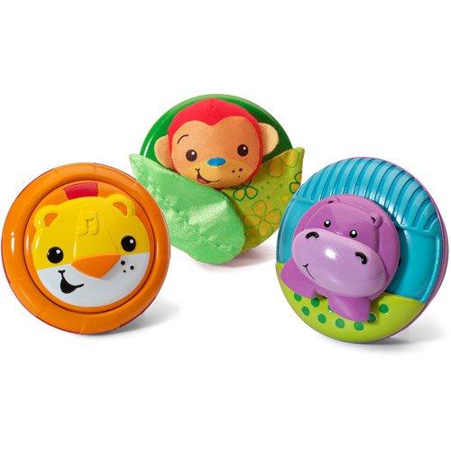 Infantino Pop & Play 3-Piece Activity Pods, Jungl