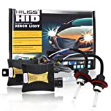 HILISS 55W HID Xenon Conversion KIT Ballast Bulbs 9007 Hi/Lo 6000K 12V Slim Light