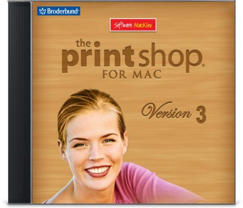 The Print Shop 3 for Mac (Font Software For Mac compare prices)