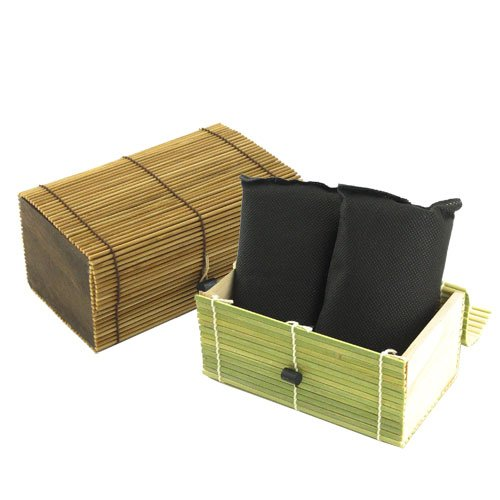 Bamboo Charcoal Refrigerator Freshener 2 pack