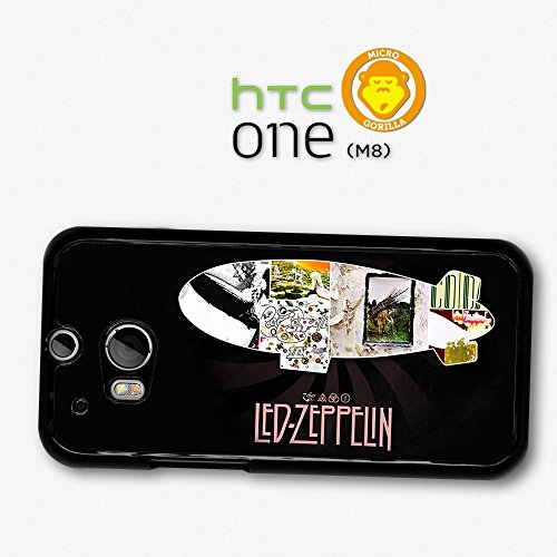Led Zeppelin Collage Album Covers Case For Htc One M8 A6449