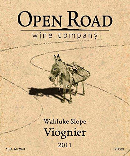 2011 Open Road Viognier 750 Ml