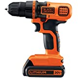 Black & Decker LDX120C 20-Volt MAX Lithium-Ion Cordless Drill/Driver
