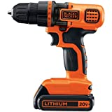Black & Decker LDX120C 20-Volt MAX Lithium-Ion Cordless...