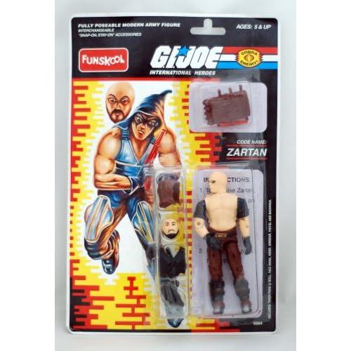 Amazon.com: G.i. Joe International - Zartan - Action Figure - Funskool