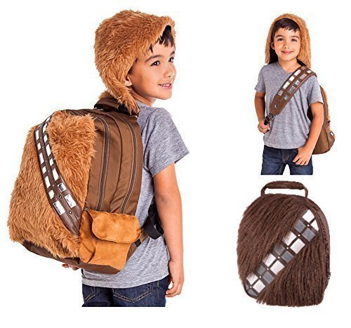 Star Wars Chewbacca Kids School Backpack with Wookie Insulated Lunch Bag