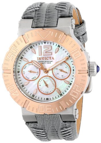 Invicta Women's 14745 Angel Analog Display Swiss Quartz Grey Watch