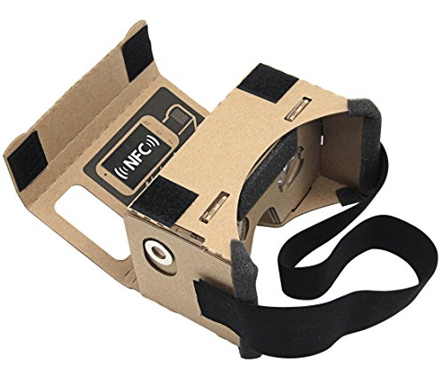 Fantastic Deal! Blisstime 45mm Focal Length Virtual Reality Google Cardboard DIY 3D VR Glasses for S...