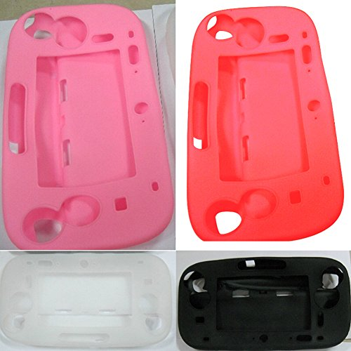 Wiiu Game Pad Silica Gel Sets Pad Handle All-Inclusive Protective Case Shock Sets