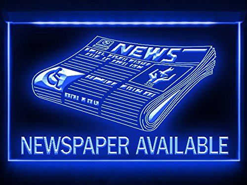 C B Signs News Newspaper Available Led Sign Neon Light Sign Display