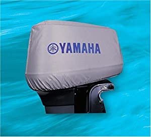 Basic yamaha outboard motor cover 6 25 f4 for Yamaha boat cover