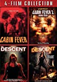 Cabin Fever 1&2 & Descent 1&2 [DVD] [Region 1] [US Import] [NTSC]