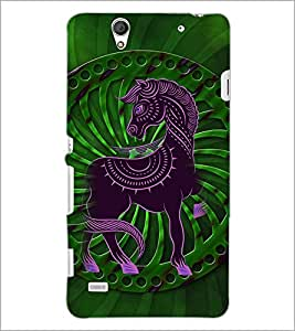 PrintDhaba Cartoon D-4107 Back Case Cover for SONY XPERIA C4 (Multi-Coloured)