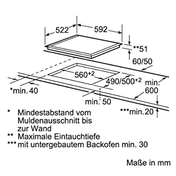 bosch glaskeramik induktionskochfeld pie611f17e 60 cm autark db680. Black Bedroom Furniture Sets. Home Design Ideas