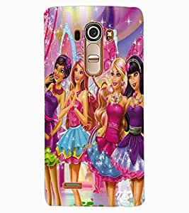 ColourCraft Princess Design Back Case Cover for LG G4