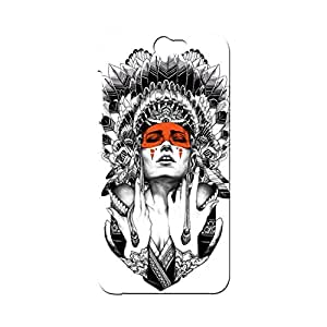 BLUEDIO Designer Printed Back case cover for HTC One A9 - G1875