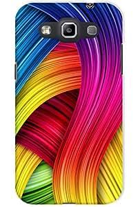 Indiarangde Hard Back Cover For Samsung Galaxy Grand Quattro Win I8550/I8552 (Multi-Coloured)