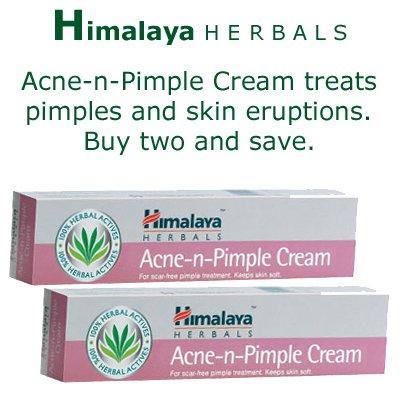 Acne-n-Pimple Cream 2 x 20g Himalaya