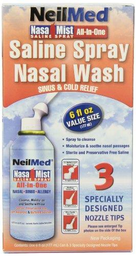Neil Med Nasa Mist Multi Purpose Saline Spray