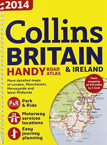 2014 Collins Britain & Ireland Handy Road Atlas (International Road Atlases) PDF