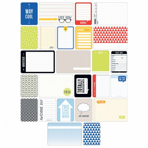 Project Life Themed Cards 60/Pkg-Teen Boy