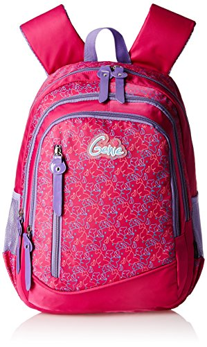Genius-Genie-Polyester-38-cms-Rose-Red-Softsided-Childrens-Backpack-BUTTERFLY-15-ROSE-RED