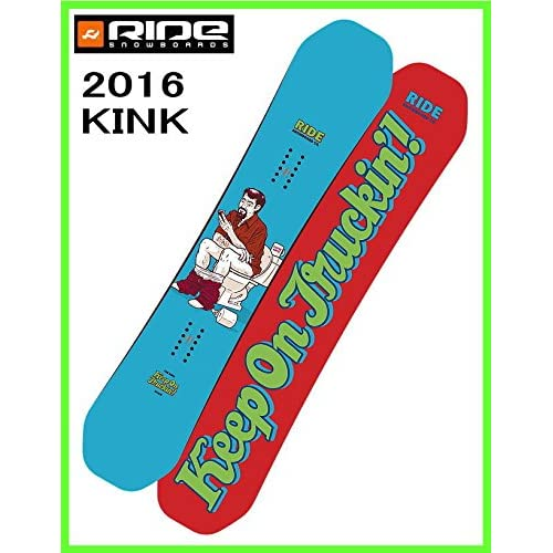 2016 RIDE KINK 151cm ライド キンク スノーボード ツインロッカー ジブボード