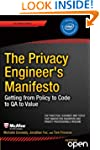 The Privacy Engineer's Manifesto: Get...