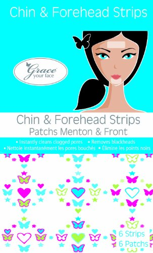 Grace Your Face - Chin & Forehead Strips (contains 6 strips)