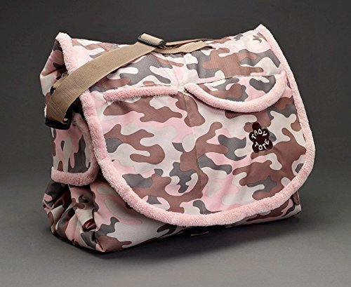 Tady Tote All-In-One Convertible Play Mat with Easy Carry Strap and Pockets - Camo