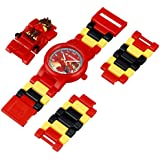 Lego Kids' 9009822 LEGO Ninjago Kai Kids' Minifigure-Link Watch
