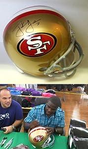 Frank Gore Signed 49ers Helmet