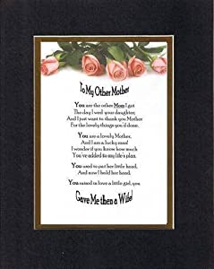 Amazon Com Touching And Heartfelt Poem For Mothers To