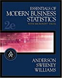 Essentials of Modern Business Statistics with Microsoft Excel by Anderson, David Ray, Sweeney, Dennis J., Williams, Thomas Ar (2003) Hardcover