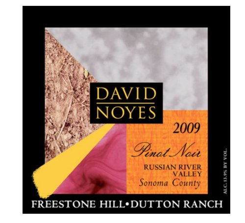 2009 David Noyes Wines Freestone Hill Pinot Noir Russian River Valley 750 Ml