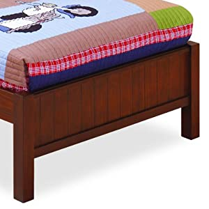 Dillon Twin Platform Bed End by Lea