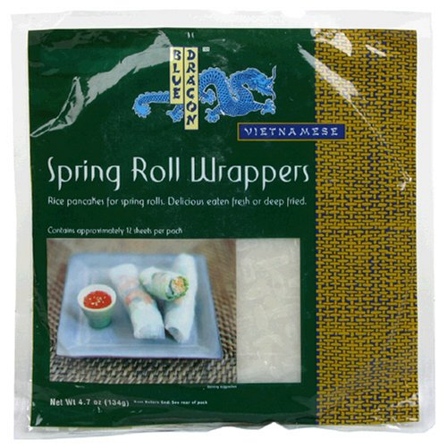 Blue Dragon Spring Roll Wrappers, 4.7 oz (Dragon Rice compare prices)